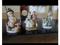 3 ANTIQUE STATUES