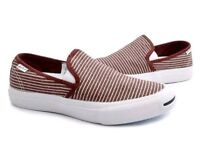 Converse All Star Jack Purcell II Striped Slip On Trainers