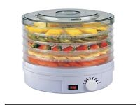 Wolf Julie Diane Food Dehydrator - with Adjustable Temperature Control - 5 Levels @ 28cm Dia