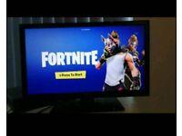 Tv Hitachi 22 Inch Full HD + free gift