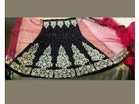 Bridal lehnga sari