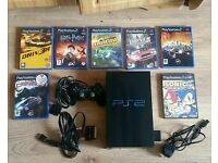 Ps2 with 6 games