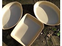 Earthenware oven dishes