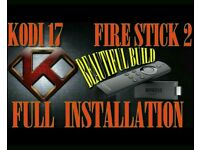 Amazon Fire Stick TV HD Media Streamer with KODI 17.4 installed