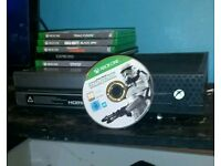 Xbox one limited edition 6 games