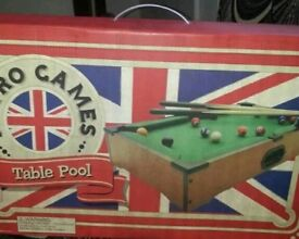 Table pool brand new