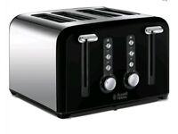Brand New Russell Hobbs 4 slice Toaster
