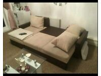 Corner sofa bed Was £750 now only £280. Like New Condition *Free Delivery*