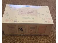 Case of 24 boxes of wedding confetti