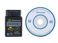 Mini OBD2 ELM327 Bluetooth Car Scanner- Auto Scan Tool OBD-II Engine Fault Diagnostic Code Tester