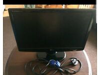 "LG flatron monitor screen 20"""