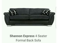 4 & 2 seater couches with storage stool