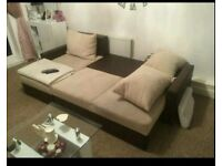 Corner sofa bed Was £750 now only £260. Like New Condition *Free Delivery*