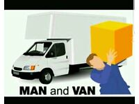Man with van and removal services