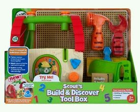 Brand new Leapfrog build and discover toolbox