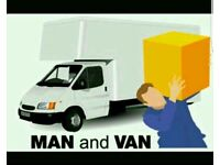 Removal services and man with van