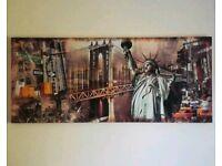 £5 New York Canvas