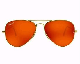 Rayban Classic Aviator Polorized Large 58mm