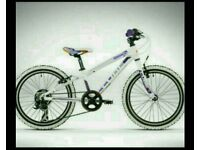 Girls cube mountain bike