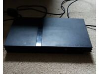 Sony PS2 Slimline console and Plug