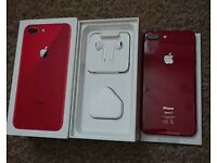 Red iPhone 8 plus 256gb read description
