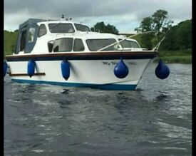 28ft cruiser boat