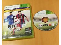 Xbox 360 Fifa 15 ultimate team edition game