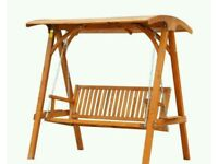 Wooden swing NEW in Greenford