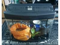 Fish tank 64L glass