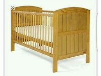 Mamas & Papas Hayworth Cot bed, Changer & Underbed drawer