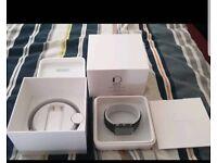 Apple watch series 1 black stainless steel new