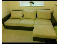 Stunning Corner Sofa bed. Like New. Was £750 now only £300. *FREE DELIVERY*