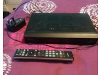 Bush Freeview + HD recording box with remote