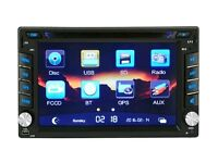 Brand new Universal DVD MP3 mp4 Bluetooth USB player for any car