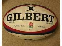 Rugby Ball used for England Rugby 2018
