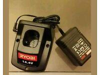 Ryobi 14.4 volt battery charger bca144 100-percent genuine