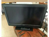 """32""""sony LCD tv full HD with build in freeview."""