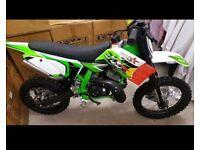 IMR racing... kids 50cc motocross bikes