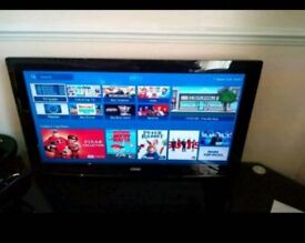 32inch HD LCD TV 3xhdmi (no stand) usb media freeview