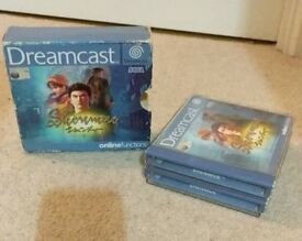 Shenmue Dreamcast Game