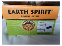 Boxed Earth Spirit size 6 sandles