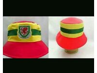 Wales bucket hat spirit of 58 euro world cup cardiff swansea