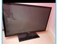 """Samsung 3d tv 43"""" faulty broken"""