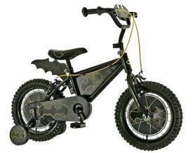 Batman bike 14 inch boys