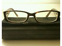 FCUK brown tortoiseshell glasses frame