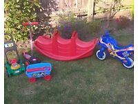 Kids outdoor toys £5