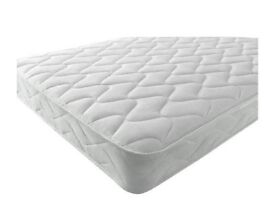 Sprung Double Mattress With Memory Foam And A Deluxe Knitted Onion Micro Quilted Stretch Fabric.