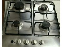 Gas integrated hobs
