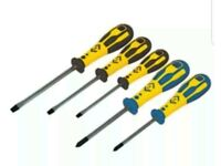 dextro slotted screwdriver set 5