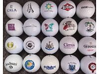 20 New Golf Balls With Logos